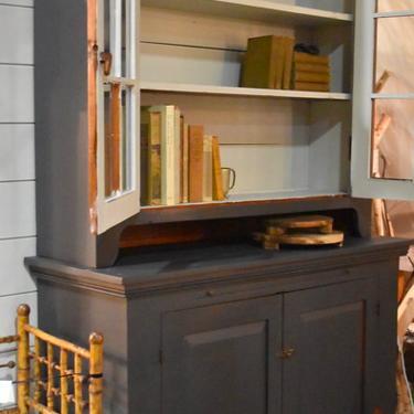 Antique Stepback Cupboard