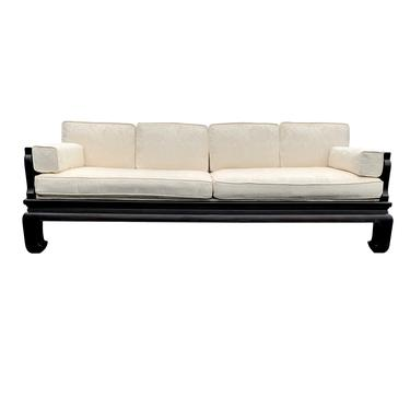 Vintage Chinoiserie Ming Daybed Sofa Hollywood Regency by TheModernHistoric