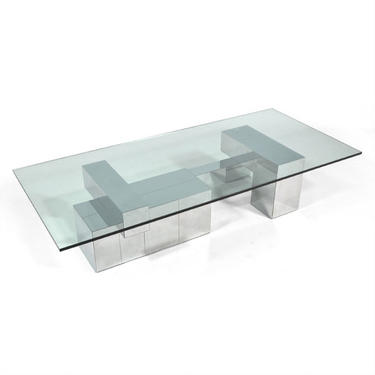 Paul Evans Extra Large Cityscape Coffee Table