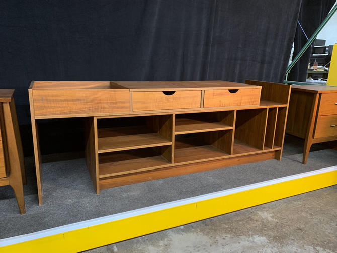 Danish teak record storage