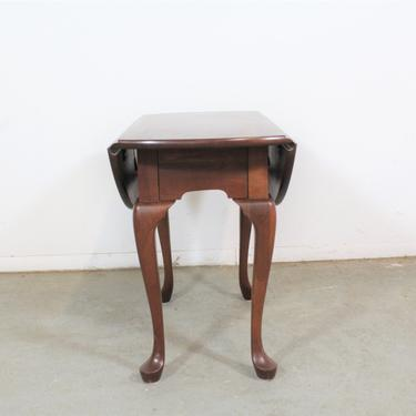 Pennsylvania House Cherry Queen Anne Drop Leaf Side Table by AnnexMarketplace
