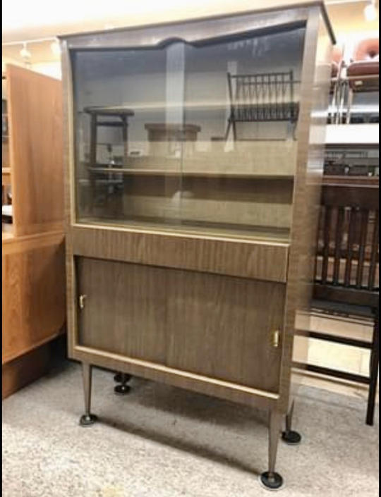 Mid Century Modern Cabinet by BigWhaleConsignment