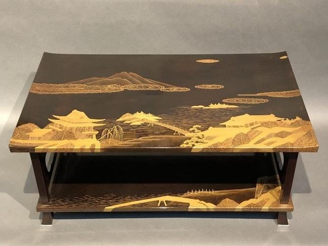 Japanese Antique Makie Stand