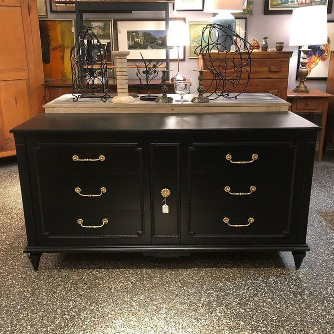 8 Gorgeous black dresser! $575!