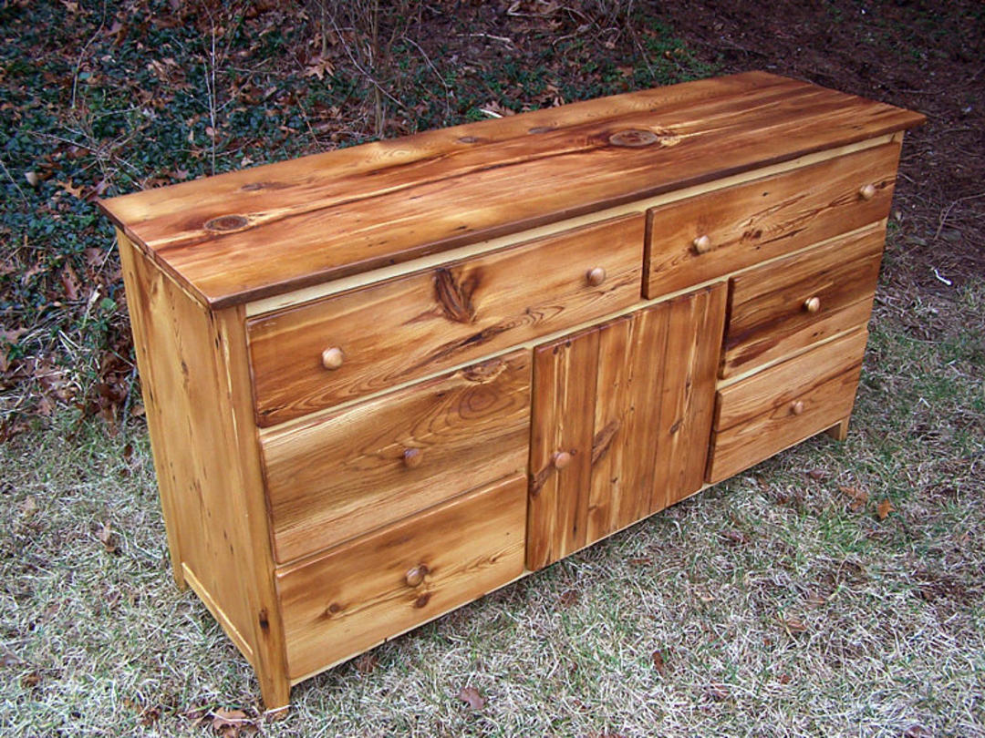 Reclaimed pine dresser with sweater closet by for Reclaimed wood dc
