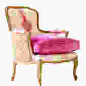 Pink Opal French Chair by WildChairy