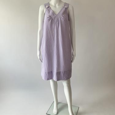 Lilac Seersucker Dress