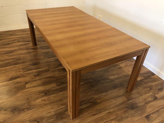 Skovby Extra Long Teak Dining Table