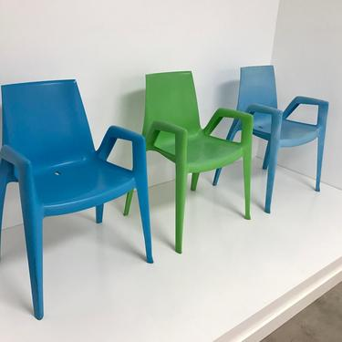 Arco Bellini arm chairs by Heller by PeachModern