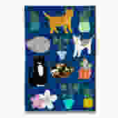 Rescue Cat Tea Towel
