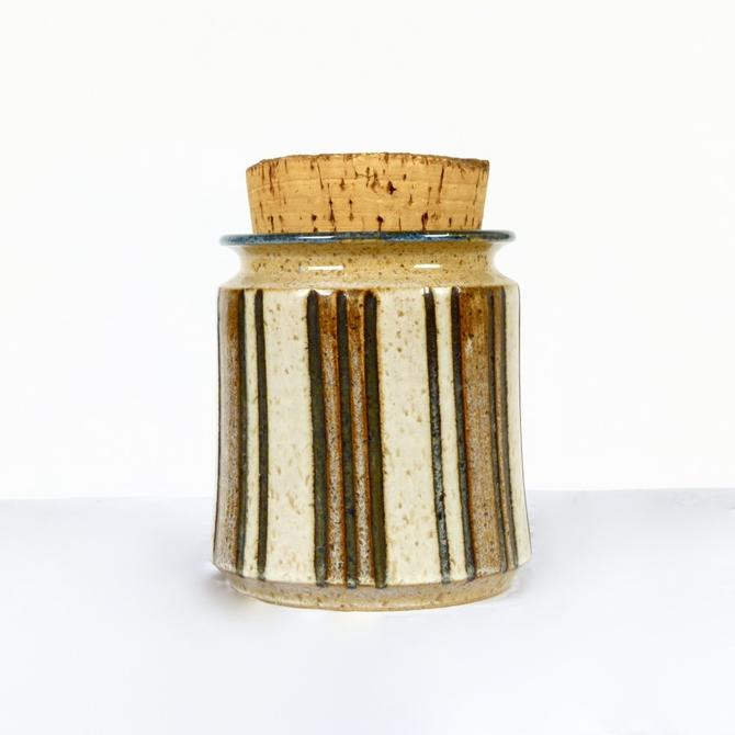 Tim Weber Stoneware Jar with Lid