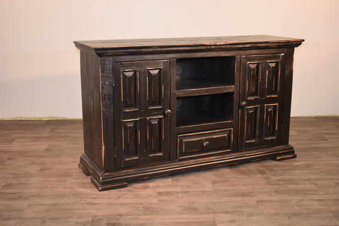 Rustic Solid Reclaimed wood TV stand Media Console / Sideboard Cabnet / Entry Way Console by RusticShop1