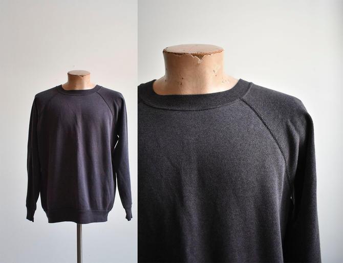 Vintage Broken In Faded Raglan Pullover by milkandice