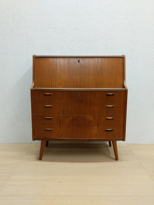Vintage Danish Modern Teak Secretary Desk by FarOutFindsNYC