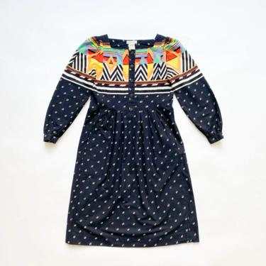 1970s California Girl Nautical Motif Dress by waywardcollection