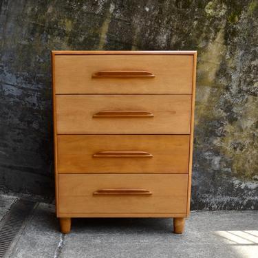 Vintage Heywood Wakefield Highboy Dresser by RossDesignCompany