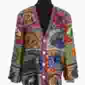 Gucci Silk and Woven Cardigan