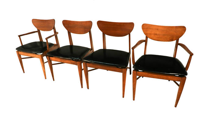 Mid Century Modern Bassett Dining Chairs by Marykaysfurniture