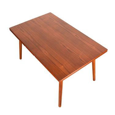 FDB Splayed Leg – Danish Modern Teak Expanding Dining Table