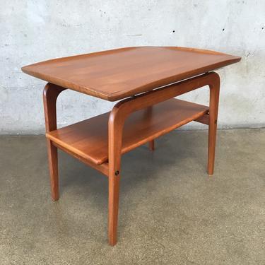 Vintage Danish Modern Teak Side Table