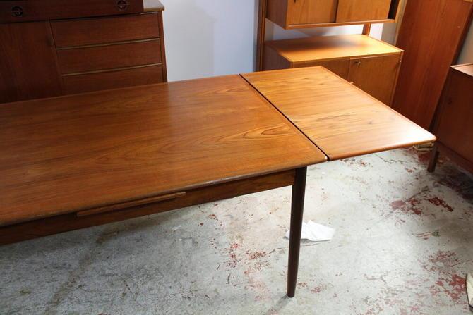 Danish Teak Extension Dining Table