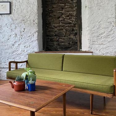 Mid century sofa Danish modern daybed mid century modern daybed by VintaDelphia