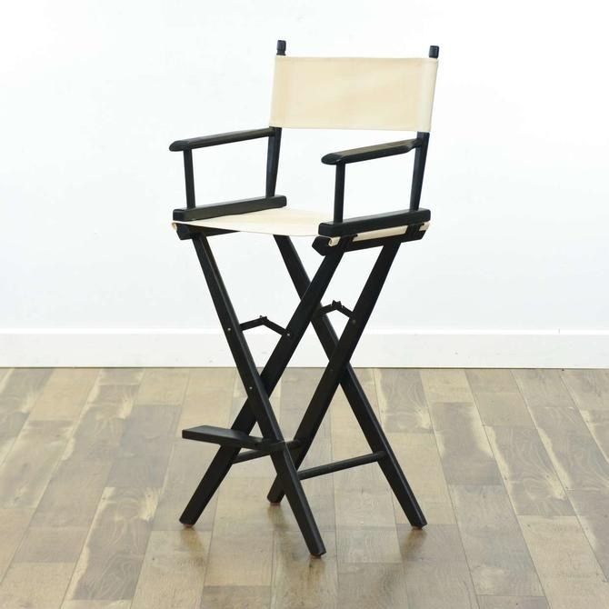 Pier 1 Imports Director'S Bar Stools W 2 Canvas Sets