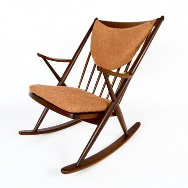Danish Rocking Chair By Frank Reenskaug