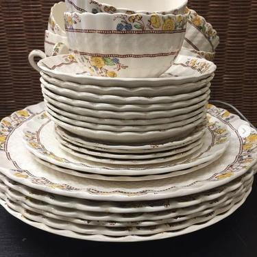 SPODE Buttercup Imperialware LOT