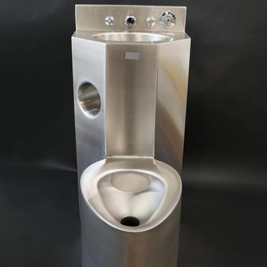 American Prison Stainless Steel Toilet