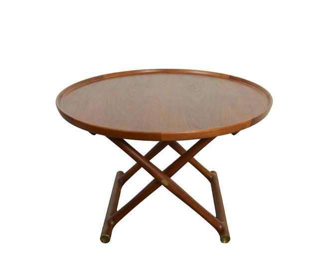 Mogens Lassen, Egyptian Table in Teak Coffee Table A.J. Iversen Danish Modern by HearthsideHome