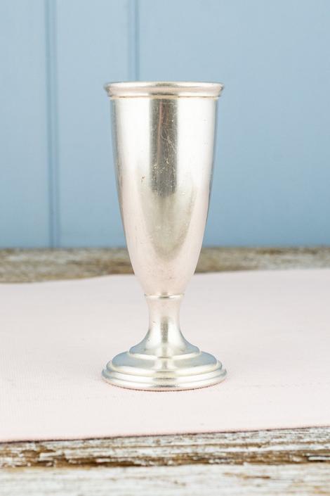 Vintage Silverplate University Club Toledo Bud Vase
