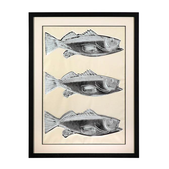 Andy Warhol Fish (F. & S. IIIA.39) 1983