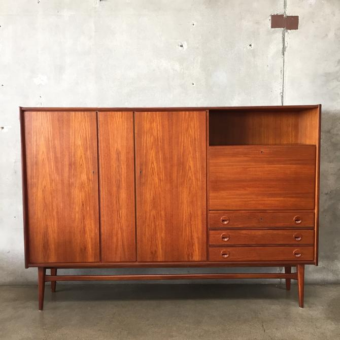 Mid Century Highboard by Bartels