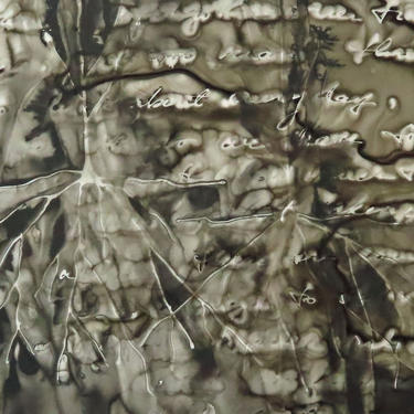 What Lives in Memory: Original ink painting on yupo of neurons - neuroscience art literature by artologica