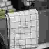 Bamboo Charcoal Graph Hand Towel