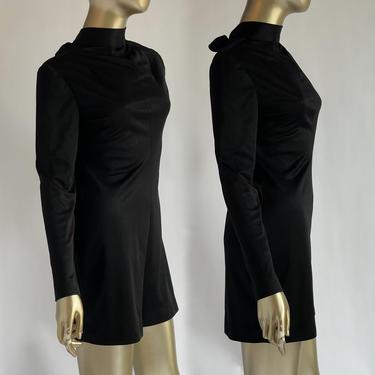 Black Romper 1960's by BeggarsBanquet