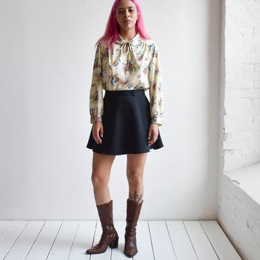Black 90s Mini Skirt by milkandice