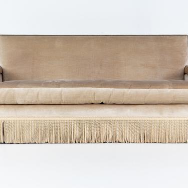 Baker Furniture Contemporary Velvet Sofa by ModernHill