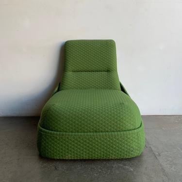 Hosu Convertible Lounge Chair by Steel case by VintageOnPoint