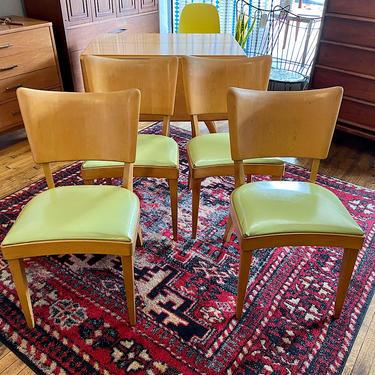 Heywood Wakefield \u2018Stingray\u2019 Dining Chairs -Set of 4