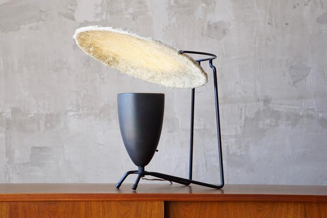 Mitchell Bobrick 'Control' Table Lamp by FandFVintage