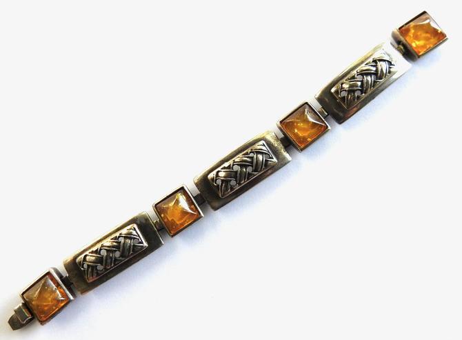 Ben Amun Silver Amber Bracelet by LegendaryBeast