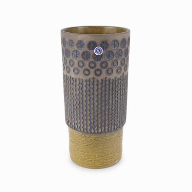 1966 Peru Ceramic Vase Mari Simmulson Upsala Ekeby Sweden Mid Century Modern 6074M by VintageInquisitor