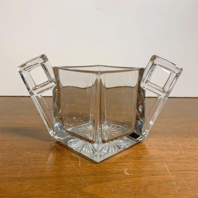 Vintage Heisey Glass Quator Open Sugar Bowl by OverTheYearsFinds