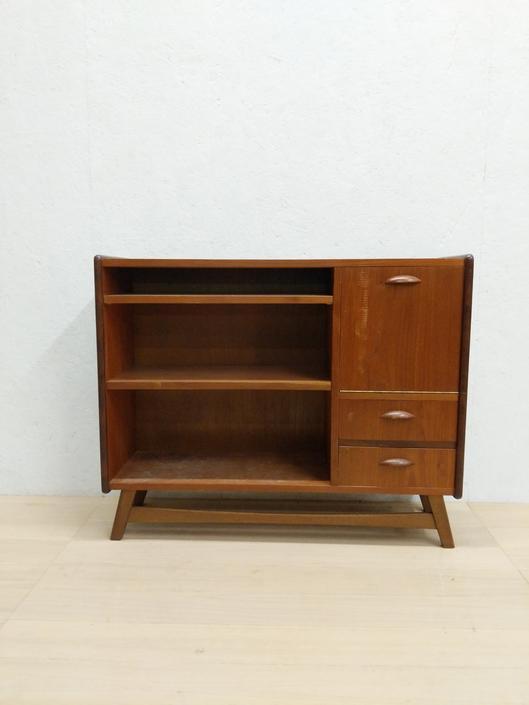 Vintage Danish Modern Bookshelf / Cabinet by FarOutFindsNYC