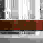 Rosewood and Marble Credenza by Florence Knoll
