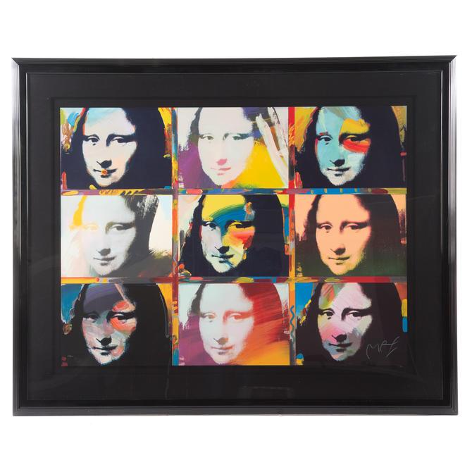 "Peter Max. ""Mona Lisa Portraits"""