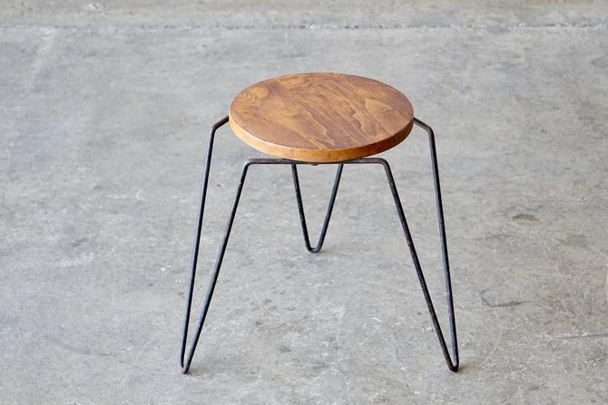 Inco Products Iron Stool by FandFVintage