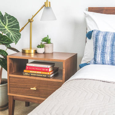 Mid-Century Nightstand by CascadiawoodworksUSA